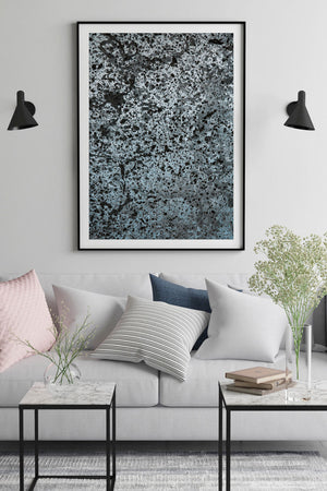 Abstract Wall Art Black Frame