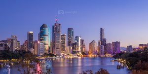 Brisbane City Lights - Brisbane - QLD, Australia