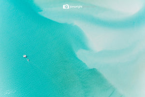 Whitehaven Beach, Aerial - The Whitsundays, QLD Australia