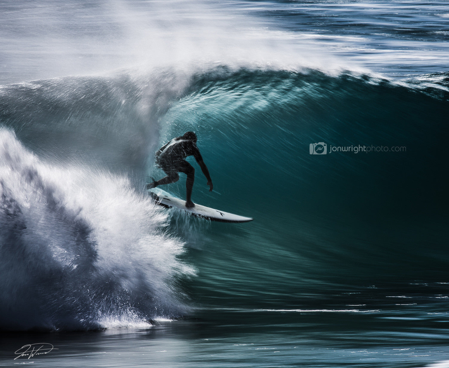 Surfer speed blur - Duranbah, NSW QLD
