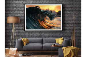 Fire & Water | Ocean Art