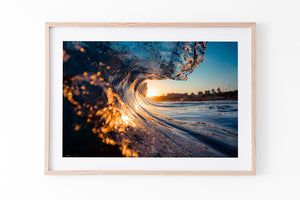 Sunshine Coast Photography and prints Wave art