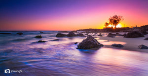 The star of the show - Kirra Beach sunrise