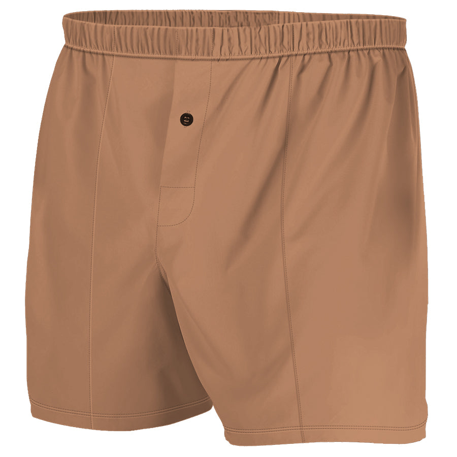 Brown - Boxer Shorts (Performance Casual)