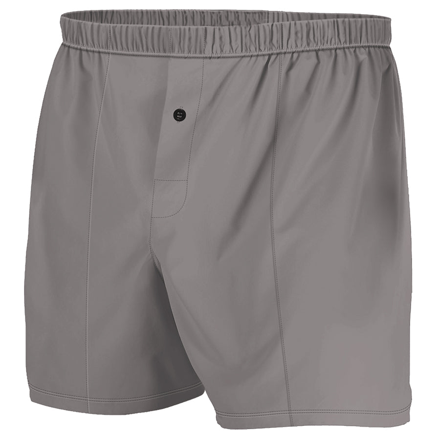 Grey - Boxer Shorts (Performance Casual)