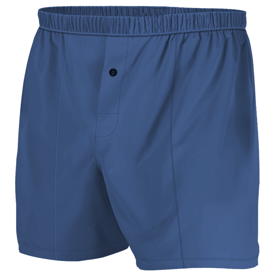 Navy Blue  - Boxer Shorts (Performance Casual)