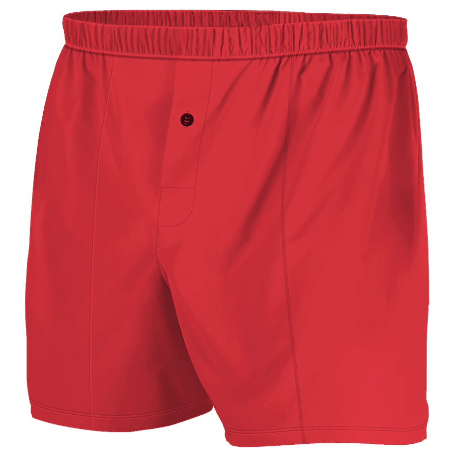 Red - Boxer Shorts (Performance Casual)