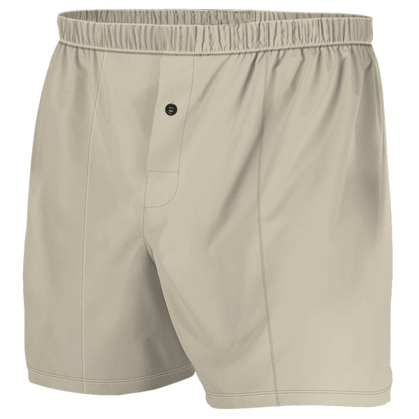 Tan - Boxer Shorts (Performance Casual)