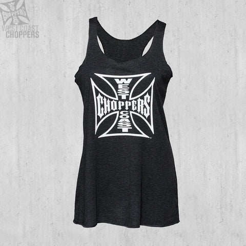 OG Cross Racerback Black Melange