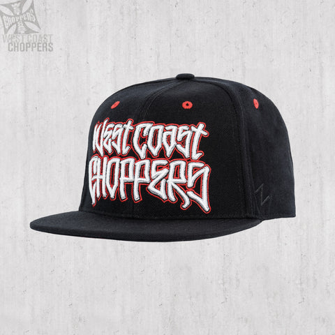 Gangscript Fitted Hat