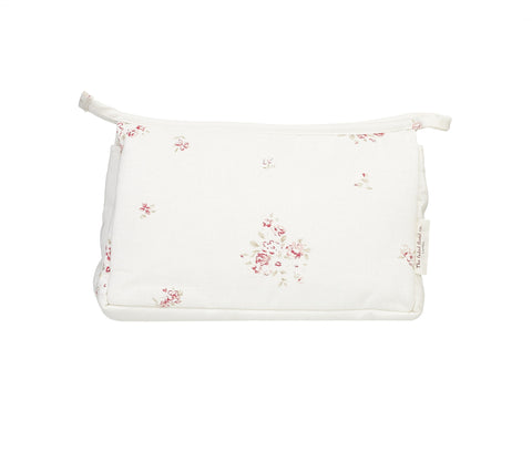 make up bag - fleur de rose