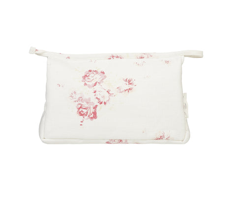 make up bag - cerise