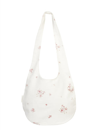 boho shopping bag - fleur de rose