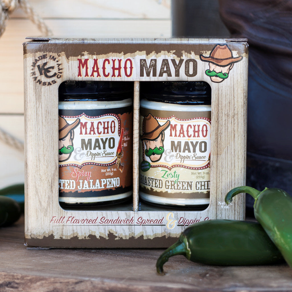 Macho Mayo Gift Pack- One of Each Flavor