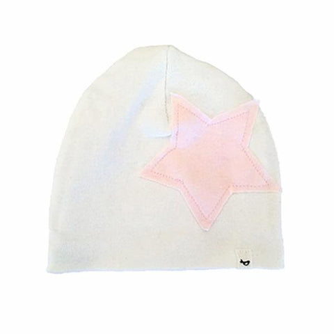 Star Patch Hat - Cream