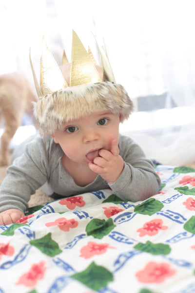 How cute is Max in oh baby! own Max Crown?