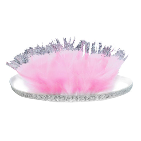 oh baby! Pixie Crown Bubblegum Pink - Silver/Silver