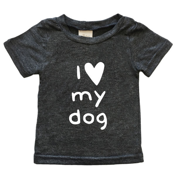 I Love My Dog Short Sleeve Tee by oh baby! brand