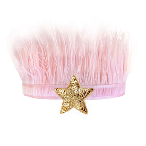 oh baby! Lily Crown Pink - Gold Sequin Star