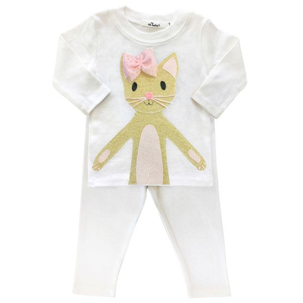 oh baby! Two Piece Set - Phoebe Kitty - Gold - oh baby!