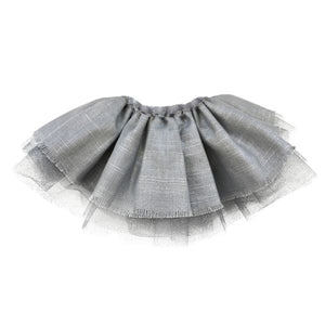 oh baby! Specialty Leighton Tutu Skirt - Silver