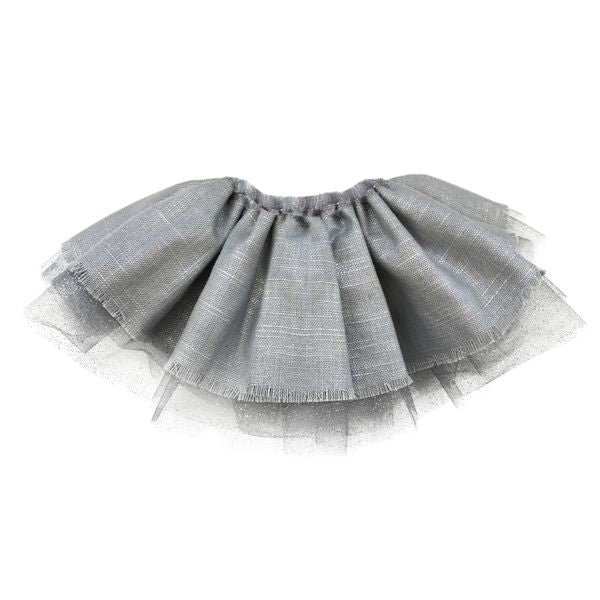 oh baby! Specialty Leighton Tutu Infant Skirt - Silver
