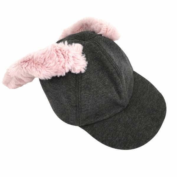 oh baby! Character Hat - Meadow Bunny - Charcoal - oh baby!