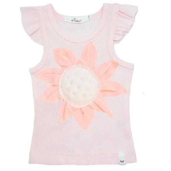 oh baby! Tank Top - Sunflower Pink - Pale Pink