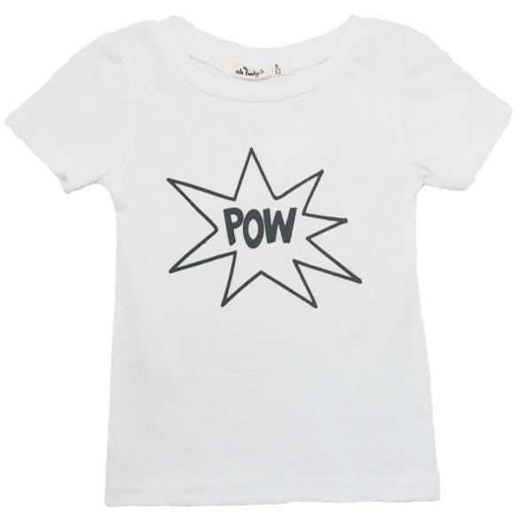 Pow! Short Sleeve James Dean Tee by oh baby!