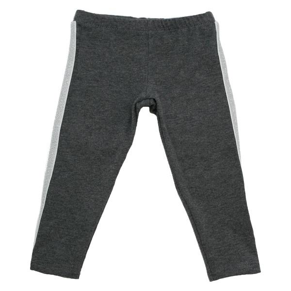 oh baby! Sport Legging Silver Stripe - Charcoal