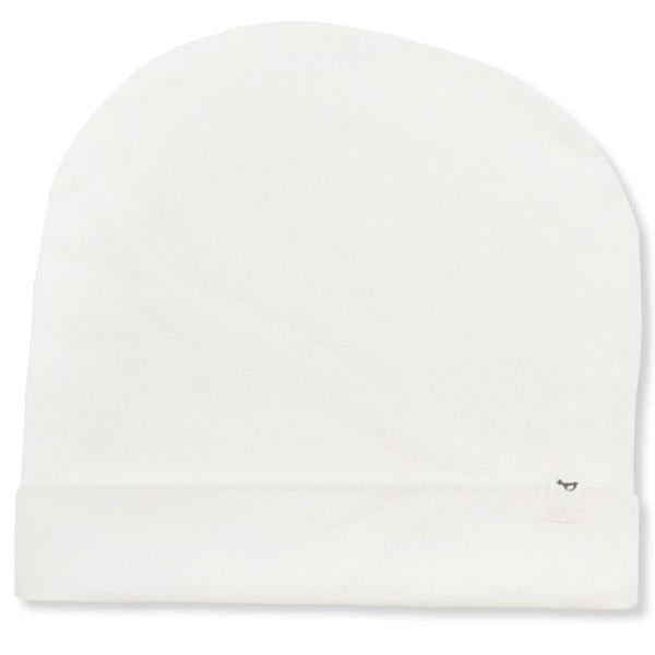 oh baby! Jersey Slouch Infant Hat - Cream