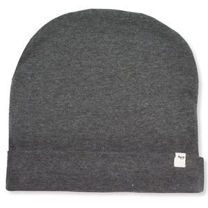 oh baby! Jersey Slouch Infant Hat - Charcoal