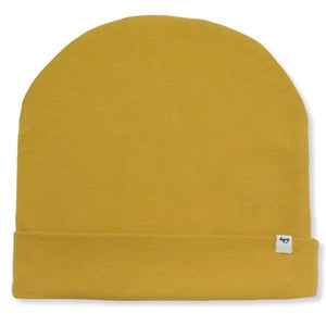 oh baby! Jersey Slouch Infant Hat - Mustard