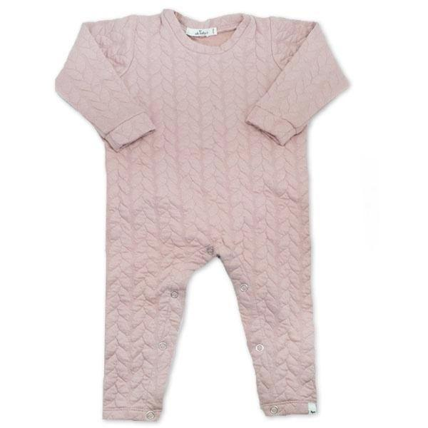 oh baby! Quilted Romper - Blush