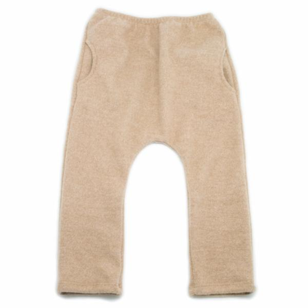oh baby! Side Pocket Fleece Pants - Tan