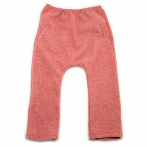 oh baby! Side Pocket Fleece Pants - Rust