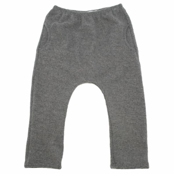 oh baby! Side Pocket Fleece Pants - Charcoal