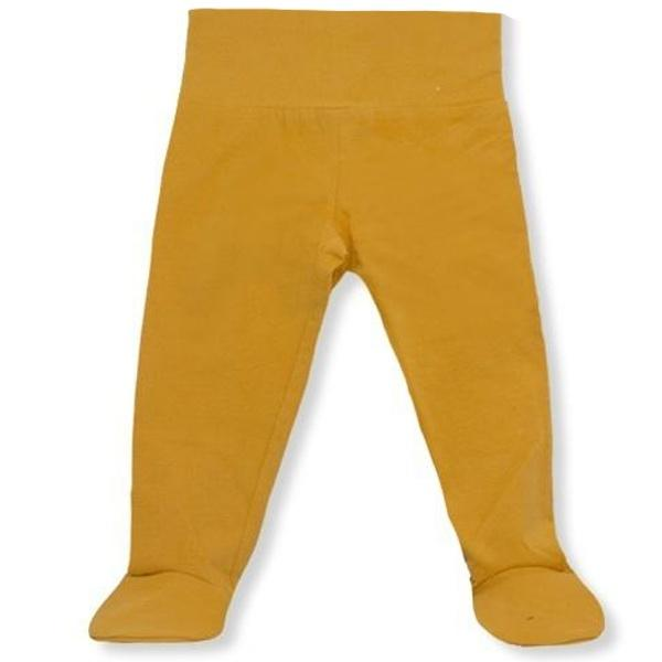 oh baby! Yoga Footie Pant - Mustard