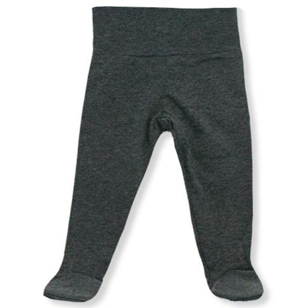 oh baby! Yoga Footie Pant - Charcoal