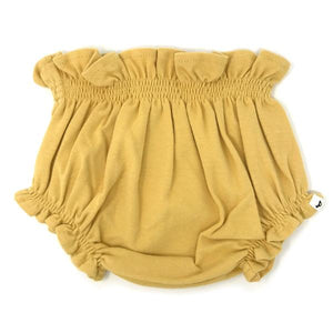 oh baby! High Waisted Tushie Diaper Cover  - Maize