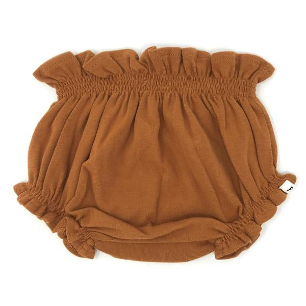 oh baby! High Waisted Tushie Diaper Cover  - Rust