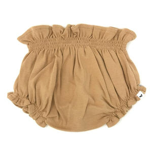 oh baby! High Waisted Tushie Diaper Cover  - Honey