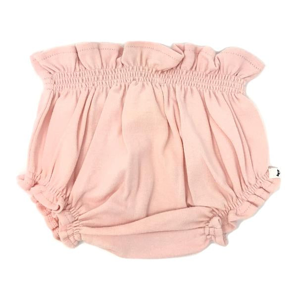 oh baby! High Waisted Tushie Diaper Cover  - Pale Pink