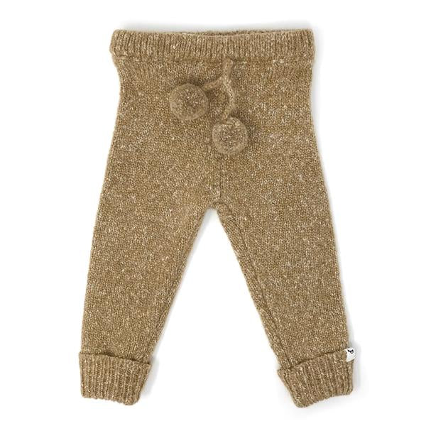 oh baby! Marled Knitted Pant - Oat