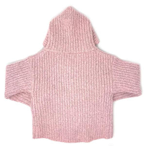 oh baby! Marled Knitted Cardigan Sweater - Blush