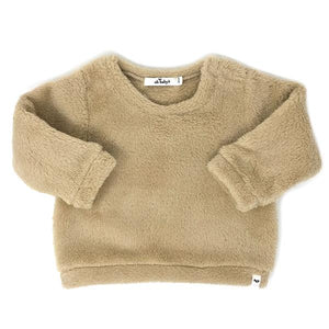 oh baby! Snowdrift Pullover - Tan