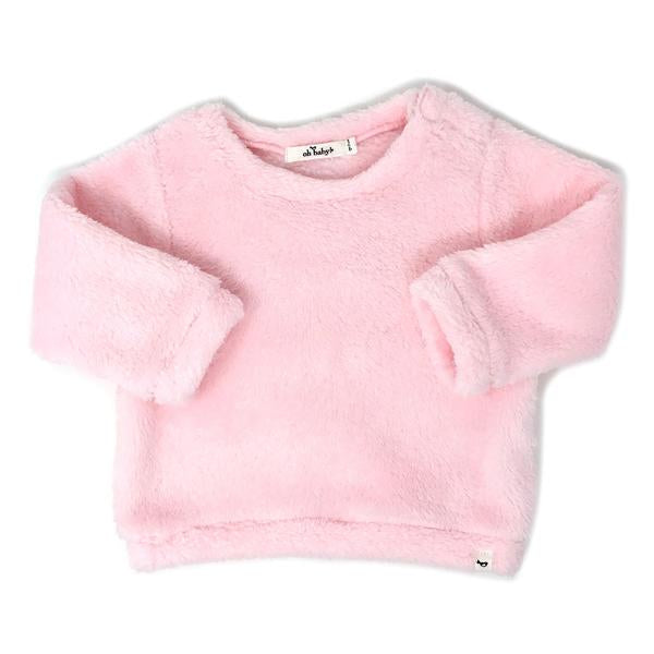 oh baby! Snowdrift Pullover - Pink