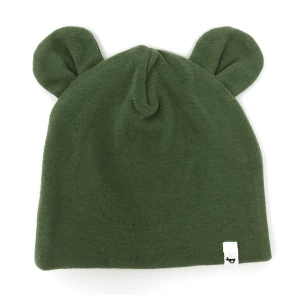 oh baby! Character Hat Bear - Moss