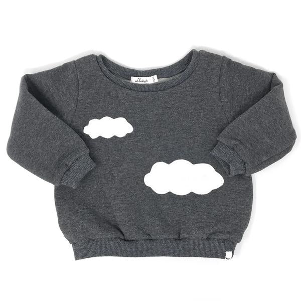 oh baby! Clouds Brooklyn Boxy - Charcoal