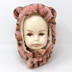 oh baby! Teddy Hat - Blush Cheetah